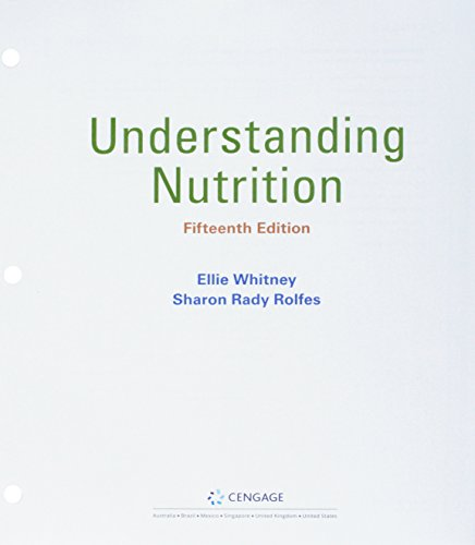 Understanding Nutrition + Mindtap Nutrition, 1 Term 6 Months Access Card:   2018 9781337881531 Front Cover