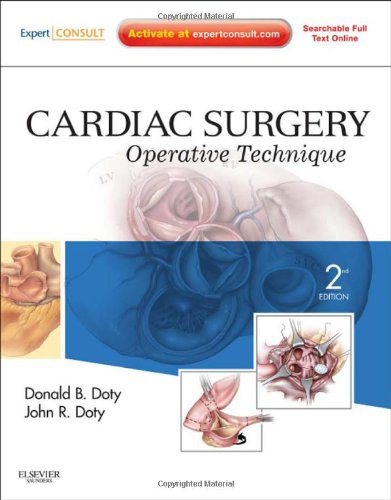 Cardiac Surgery Operative Technique 2nd 2012 edition cover