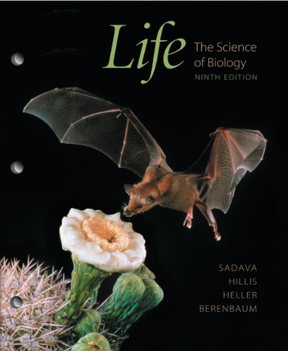 Life The Science of Biology 9th 2010 edition cover