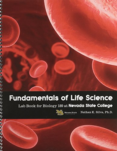 Fundamentals of Life Science Lab Book for Biology 189 at Nevada State College Revised edition cover