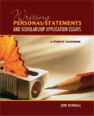 WRITING PERSONAL STATEMENTS+SC 1st 9781581756531 Front Cover