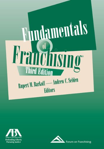 Fundamentals of Franchising, Third Edition  3rd 2008 edition cover