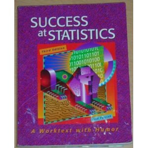 Success at Statistics-3rd Ed  3rd 2004 edition cover
