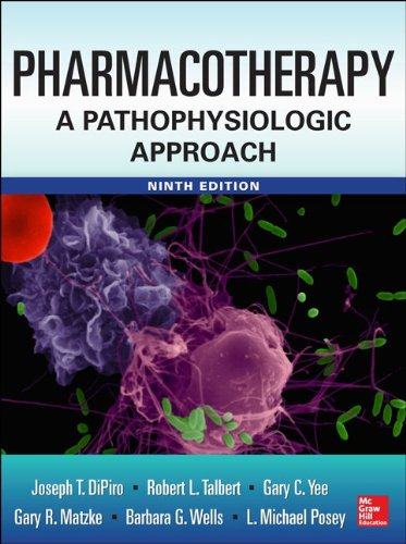 Pharmacotherapy a Pathophysiologic Approach  9th 2014 edition cover