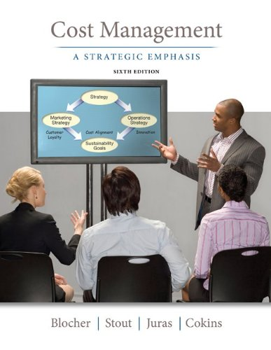 Cost Management A Strategic Emphasis 6th 2013 edition cover