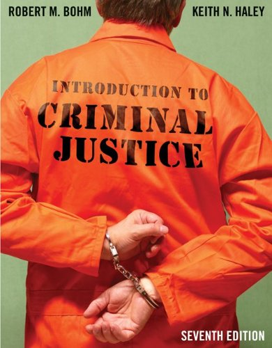 Introduction to Criminal Justice  7th 2012 edition cover