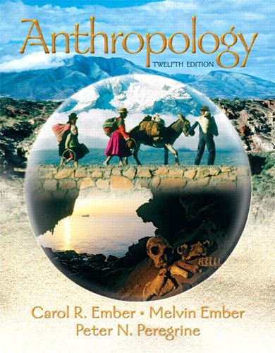 Anthropology  12th 2007 (Revised) edition cover