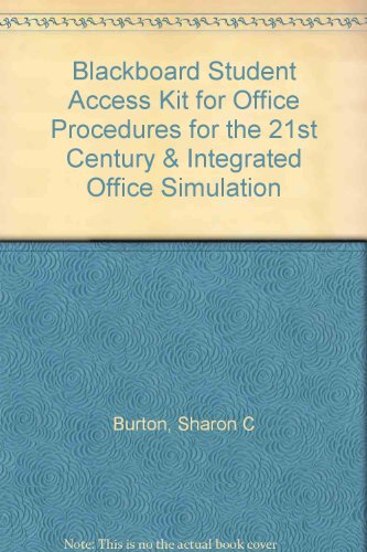 Office Procedures for the 21st Century and Integrated Office Simulation  8th 2011 edition cover