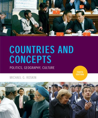 Countries and Concepts Politics, Geography, Culture 10th 2009 edition cover
