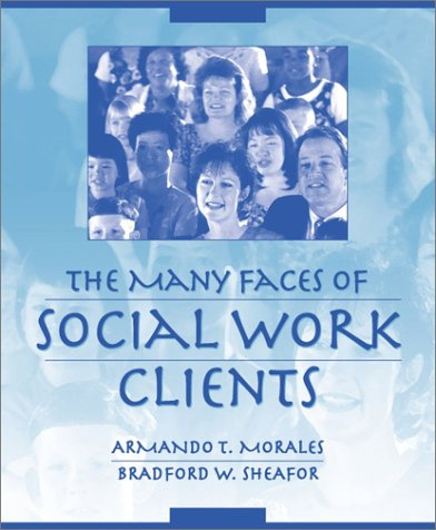 Many Faces of Social Work Clients   2002 edition cover