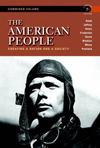 American People Creating a Nation and a Society 7th 2011 (Revised) edition cover