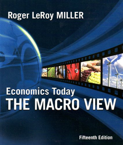 Economics Today The Macro View 15th 2010 edition cover