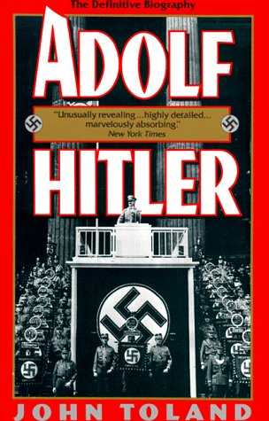 Adolf Hitler The Definitive Biography N/A edition cover