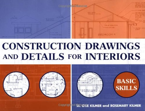 Construction Drawings and Details for Interiors Basic Skills  2002 edition cover