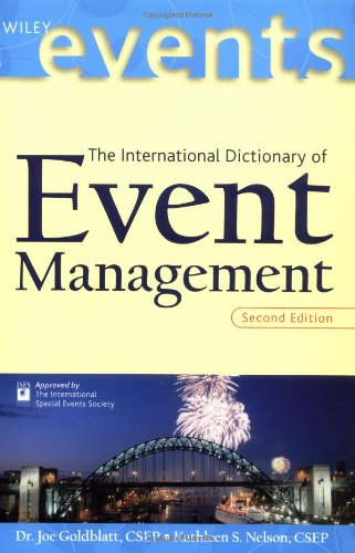 International Dictionary of Event Management  2nd 2001 (Revised) edition cover