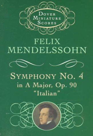 Symphony No.4 in a Major Op 90  N/A 9780486299532 Front Cover