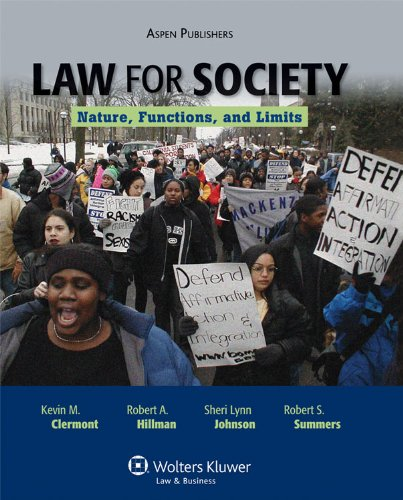 Law An Introduction for the Generalist  2010 edition cover