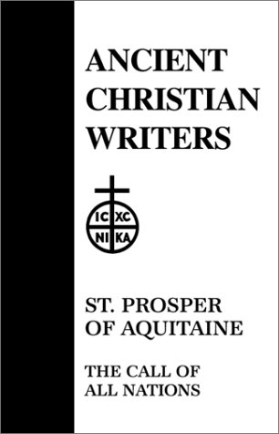 St. Prosper of Aquitaine, the Call of All Nations   1952 edition cover