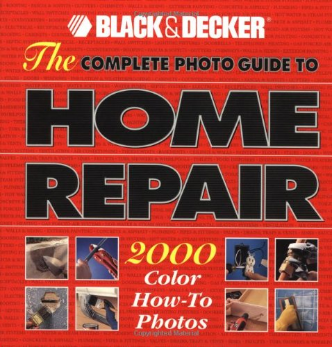 Complete Photo Guide to Home Repair   1999 9780865737532 Front Cover
