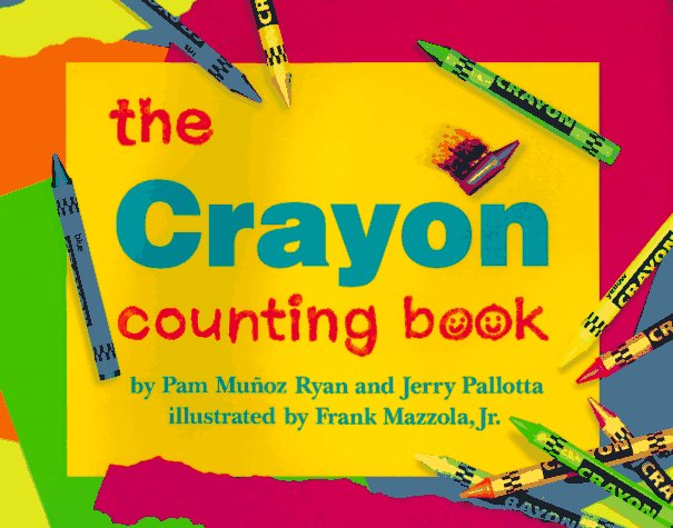 Crayon Counting Book   1999 9780881069532 Front Cover