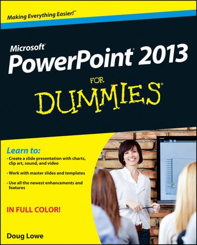 PowerPoint 2013 for Dummies:   2013 edition cover