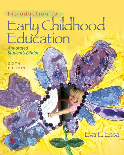 Introduction to Early Childhood Education  6th 2011 (Student Manual, Study Guide, etc.) edition cover