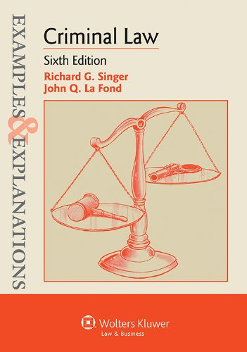 Criminal Law: Examples and Explanations  2013 edition cover