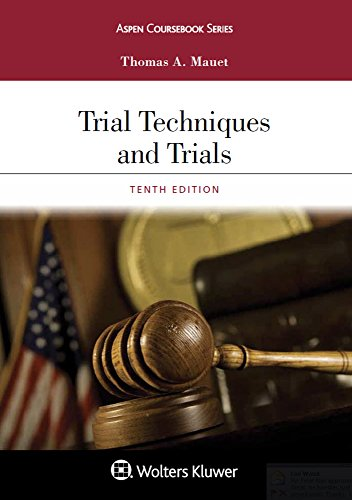 Trial Techniques and Trials  10th 2017 9781454886532 Front Cover