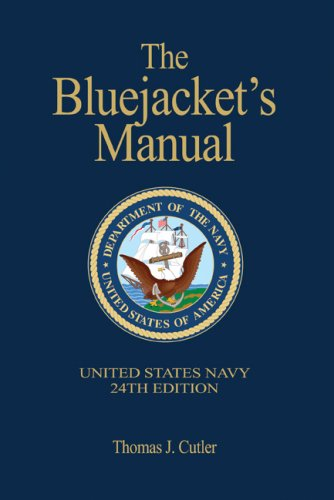 Bluejacket's Manual, 24th Edition  24th 2009 (Revised) edition cover