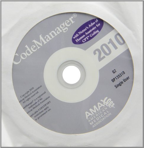 Codemanager 2010 Plus Netter's: Single User  2009 edition cover
