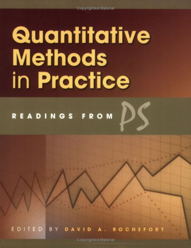 Quantitative Methods in Practice Readings from Ps 370th 2004 (Revised) edition cover