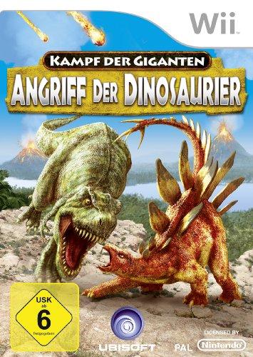 Kampf der Giganten - Angriff der Dinosaurier Nintendo Wii artwork
