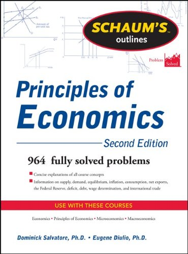 Principles of Economics 964 Fully Solved Problems 2nd 2012 (Revised) edition cover