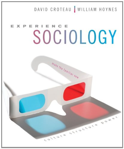 Experience Sociology   2013 edition cover