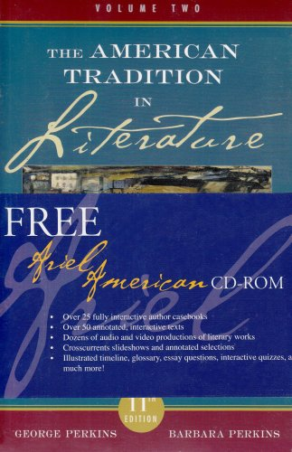 American Tradition in Literature 11th 2007 edition cover