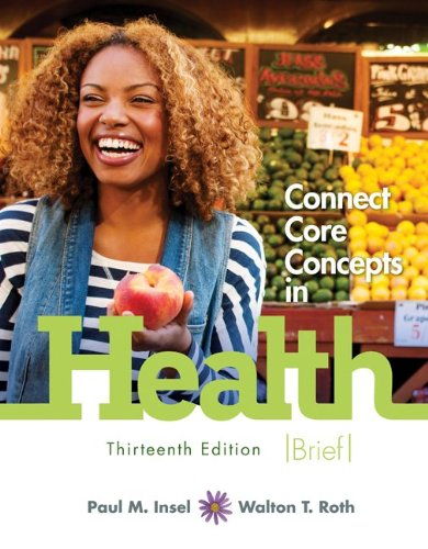 Connect Core Concepts in Health:  13th 2013 edition cover