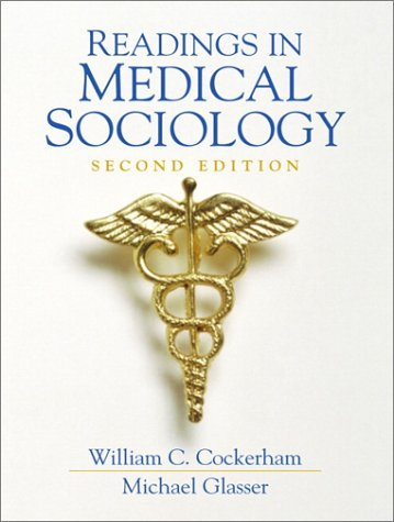 Readings in Medical Sociology  2nd 2001 edition cover