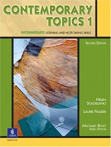 Contemporary Topics 1  2nd 2002 9780130948533 Front Cover