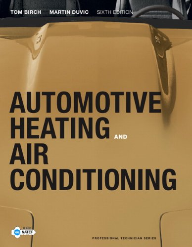 Automotive Heating and Air Conditioning  6th 2012 (Revised) edition cover