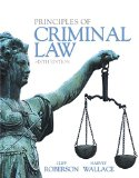 Principles of Criminal Law:   2015 9780133822533 Front Cover