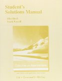 Calculus With Applications:   2016 edition cover