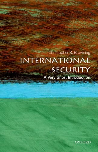 International Security: a Very Short Introduction   2013 edition cover
