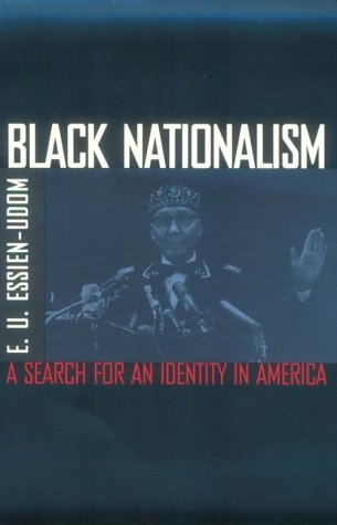 Black Nationalism The Search for an Identity 205th 1971 edition cover