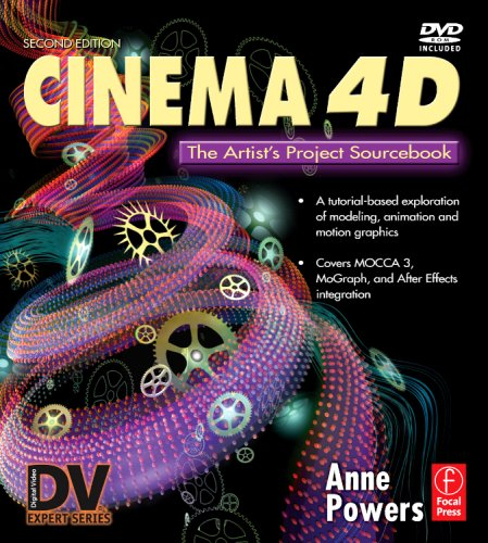 Cinema 4D The Artist's Project Sourcebook 2nd 2007 (Revised) edition cover