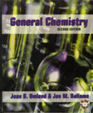 General Chemistry  2nd 1996 9780314063533 Front Cover