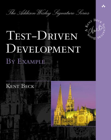 Test Driven Development By Example  2003 edition cover