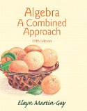 Algebra: A Combined Approach  2015 edition cover