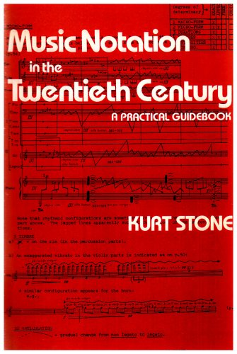 Music Notation in the Twentieth Century A Practical Guidebook  1980 edition cover