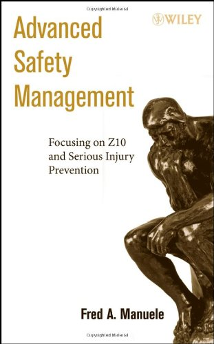 Advanced Safety Management Focusing on Z10 and Serious Injury Prevention  2008 9780470109533 Front Cover