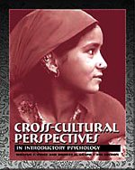 Cross-Cultural Perspectives In Introductory Psychology 4th 2002 (Revised) 9780534546533 Front Cover